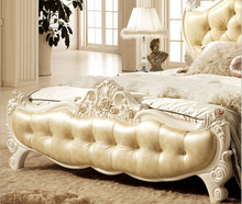 New classical genuine leather bed 0409-FC8890(China)