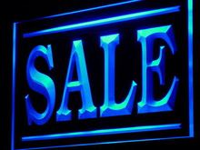 j203 SALE Discount Lure Display Shop LED Neon Light Sign Wholesale Dropshipping On/ Off Switch 7 colors DHL