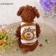 Clearance Sale! SYDZSW XXXS XXS XS Newly Born Pet Clothes Milk Dog Baby Chihuahua Costume Supple Fleece Small Dog Cat Warm Coat(China)