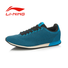 Li-Ning Men's Lace-Up Portable Running Shoes Unisex Breathable Stability Outdoor Wear-resisting Sports Sneakers ALCK143