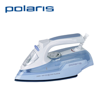 Polaris PIR 2466K 2400W Electric Iron Mechanical Timer Control Clothes Steamer Coated Baseplate Steam Iron Selfcleaning Auto Off