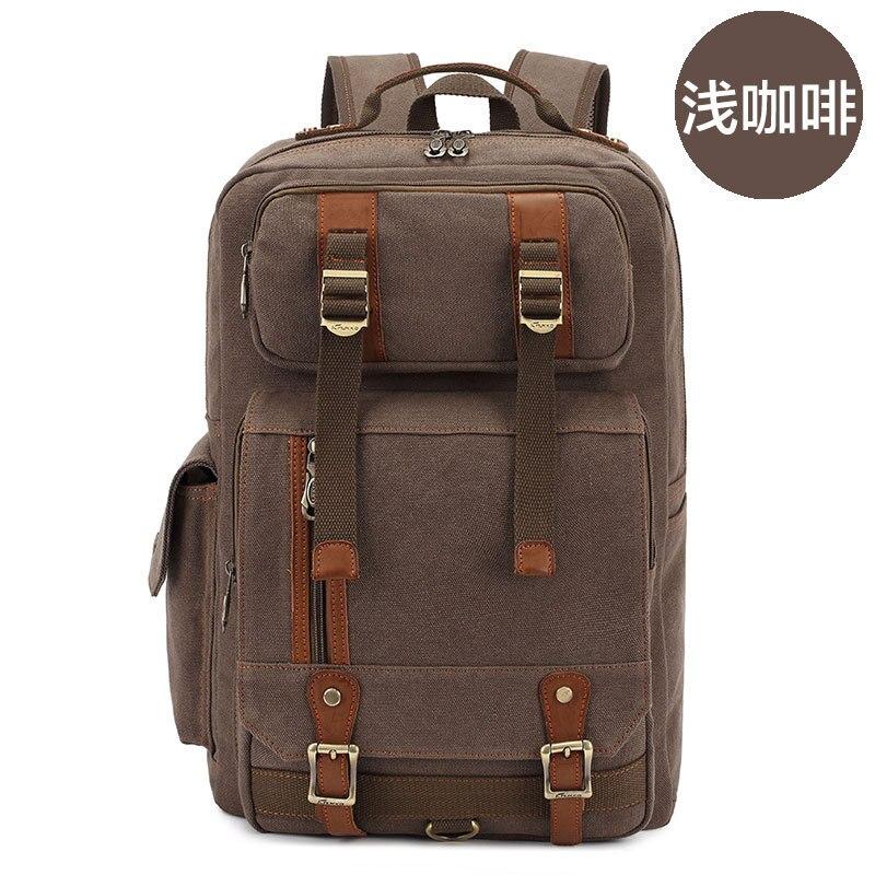 Hot mens Men Backpack Zipper Solid Mens Travel Bags Canvas Bag mochila masculina bolsa school bags Bag Gift HMC01<br><br>Aliexpress