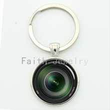 My photography my key chain camera Lens art picture freeze-frame the moment keychain 2016 new design fashion jewelry KC372(China)