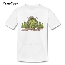 D&D Tee Druid children's T Shirt Pure Cotton Short Sleeve O Neck Tshirt Clothes Boys Girls 2017 Best Selling T-shirt For Baby