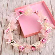 MHS.SUN fashion bridal flower crowns hairbands 3 colors headbands headwear for wedding accessories 1pc/lot hot sale HX058