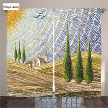 Curtains Kitchen Windows Tuscan Decor Collection Italy Valley Rural Fields European Scenery Beige Gr Curtains Kitchen Windows T