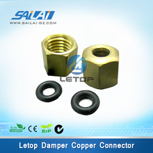 Cheap price !! Mutoh printer big damper copper connector for printer ink damper (big size)(China)