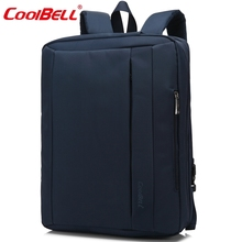 CoolBell Waterproof Oxford Cloth 15.6 17.3 inch Laptop Bag Multifunctional Laptop Briefcase backpack unisex For iPad Pro Macbook