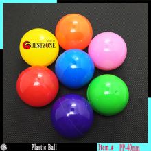 Free shipping high quality round ball 40mm mixed colors colorful balls plastic toy capsules