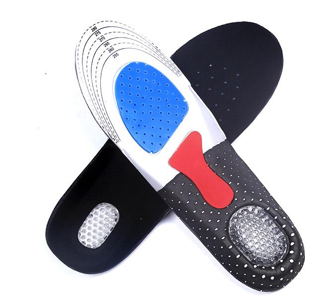 1 Pair Unisex Orthotic Arch Support Sport Shoe Insert  Gel Thick Cushioning Anti-shocked Insoles for Men Women<br><br>Aliexpress