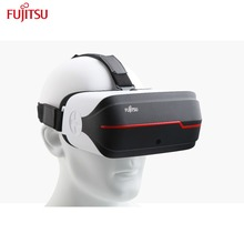 Fujitsu 3D Glasses Red Cyan Video Glasses with 5.5 Inch Sharp Full View HD 2K Display 2560*1440 Resolution Support Head Tracking
