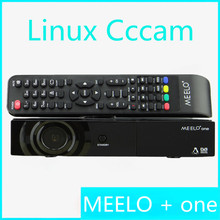 Hot-sale full HD satellite tv receiver MEELO one 750 DMIPS Processor Linux Operating System Support YouTube Cccam STB DVB-S2