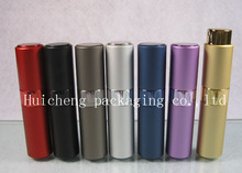 50pcs/lot High Quality Twist 10ML Perfume Bottle 1/3OZ Refillable Parfum Atomizer 10CC Fancy Fragrance Bottle
