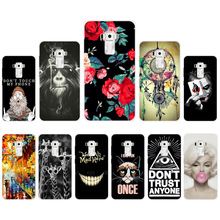 "New Unique Phone Case For Asus Zenfone 3 ZE552KL 5.5"" Asus Zenfone 3 ZE520KL 5.2"" Soft Silicon TPU Back Cover with Cool Style(China)"