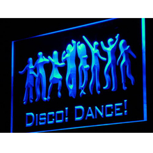 i881 Disco Dance DJ Neon LED Light Sign On/Off Switch 7 Colors