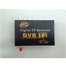 CAR DVB-T2 Mobile DIGITAL TV TUNER RECEIVER For Russia Thailand Columbia DVB-T2(China)