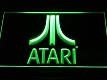 e022 Atari Game PC Logo Gift Display LED Neon Sign with On/Off Switch 7 Colors to choose