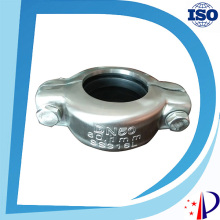 "DN 150  6""  159 mm 1200 psi Stainless Steel 316 Flexible Pipe Clamp Coupling"