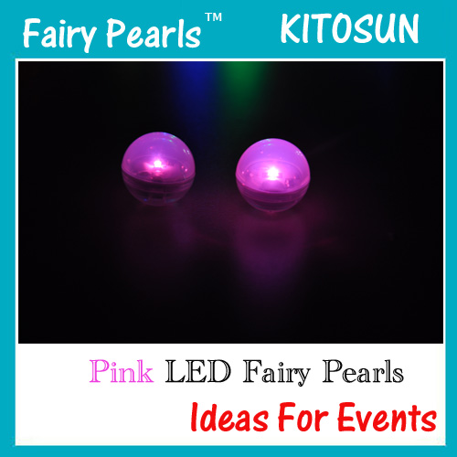Pink Fairy Pearls
