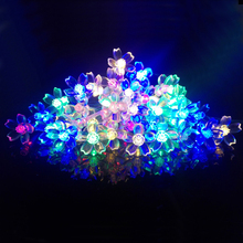 2M 20LEDs LED String Lights Battery Cherry Blossoms Flasher Fairy Lighting Christmas Holiday Decoration