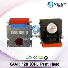 Best price!!! Solvent Printer Xaar 128 80pl printhead Widely Suitable for witcolor/myjet/gongzheng