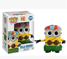 "FUNKO POP Despicable Me Minion King BOB #168 PVC Action Figure Collection Toy Doll 4"" 10CM T3081"