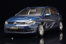 Diecast Car Model 1:18 Volkswagen New Golf 7 (Blue) + SMALL GIFT!!!!!!!