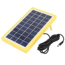 UXCELL 9V 3W Diy Polycrystallinesilicon Solar Panel Power Cell Battery Charger 220Mm X 135Mm X 17Mm