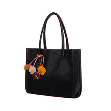Women bag Fashion Elegant girls Shoulder bags leather 9 candy color flowers Beach tote Shopping bag handbags women famous Brands