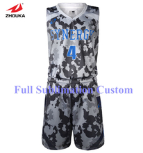 2016 Latest Design Full sublimation Custom Basketball Jersey free shipping