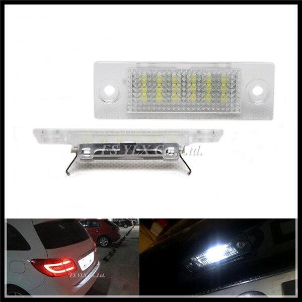 LED License Plate Light Lamp for VW Caddy III Golf 5 Plus Jetta Passat Touran Transporter LED number License Plate Lights for VW<br><br>Aliexpress