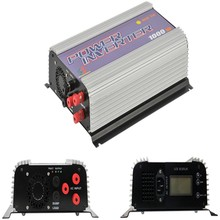 1000W Grid Tie Inverters  for 3 Phase AC22-60 or 45-90V Wind Turbine With Dump Load 1KW AC Wind Turbine MPPT Inverter Pure Sine