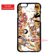One Piece Characters Cell Phone Cover Case for Samsung Galaxy Note 2 3 4 5 S2 S3 S4 S5 Mini S6 S7 S7 Edge Plus