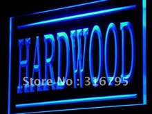 j206 Hardwood Wood Supply Shop Lure LED Light Sign Wholeselling Dropshipper On/ Off Switch 7 colors DHL