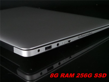 14 inch windows7/8.1 laptop Computer PC In-tel Celeron J1900 2.0GHZ Quad Core 8GB DDR3 256G SSD WIFI HDMI WEBCAM Slim Ultrabook(China)