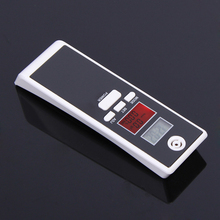 New Backlight Alcohol Tester breathalyzer Alcohol Detector, Dual LCD display Clock Temperature, Free shipping!(China)