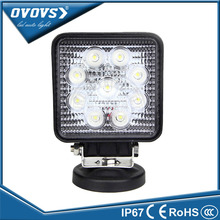 "OVOVS hot sale 27w off road led lamp wholesale price 4"" 27w led work light for truck tractor offroad"