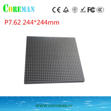 Free shipping p7.62 32*32 dots 7.62 2mm led pixel pitch p2p3p4p5p6p8p10 led matrix panel foldable oled display flexible(China)