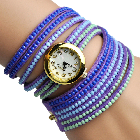Ice Cream Bracelet women leather reloj girl Watch