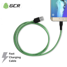 GCR Micro USB Cable MicroUSB Data Cable Fast Charging Cable For Phone Android USB Charging Cord Wire For Meizu Xiaomi Samsung