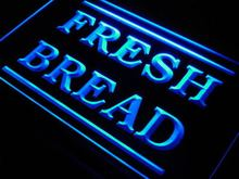 j660 Fresh Bread Bakery Shop Display LED Neon Light Sign Wholesale Dropshipping On/ Off Switch 7 colors DHL