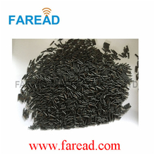 LF glass tag RFID transponder for Animal tracking 1.4*8mm FDX-B with  free ICAR number  100pcs/lot