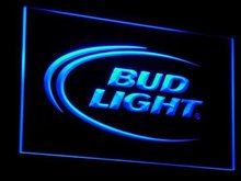 a003 Bud Lite Beer Bar Pub Club Logo LED Neon Light Signs Wholesale Dropshipping On/ Off Switch 7 colors DHL