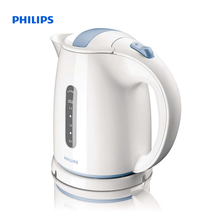 Philips Daily Collection Kettle 1.5 L 2400 W Water level indicator White Hinged lid HD4646/70