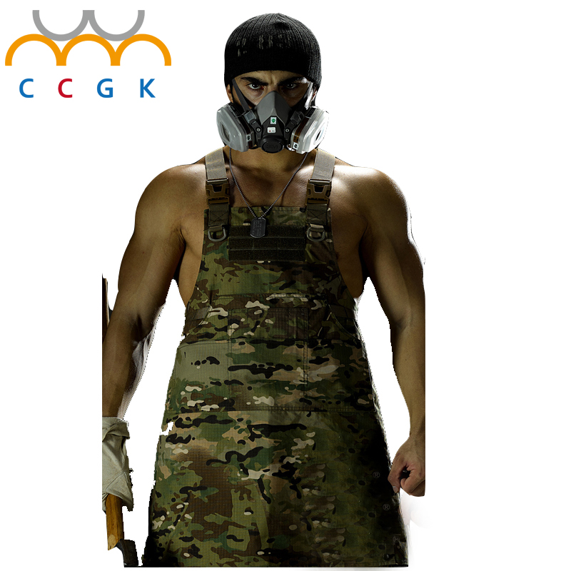 Outdoor camping hiking tactical apron Male and female generic aprons military camouflage repair waterproof apron tatico 11colors<br><br>Aliexpress
