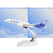 Chile LAN Airlines Boeing 787 16cm airplane child Birthday gift plane models toys Free Shipwping Christmas gift