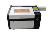 CO2 laser engraving machine LY 6040 PRO 60W high speed Laser cutter machine with rotary axis