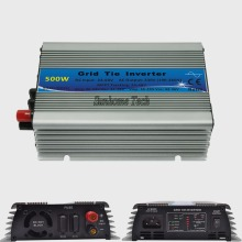 500W Grid Tie Inverter MPPT Function 22-60VDC input 230VAC Micro Grid Tie Pure Sine Wave Inverter 22V-60V to 220V