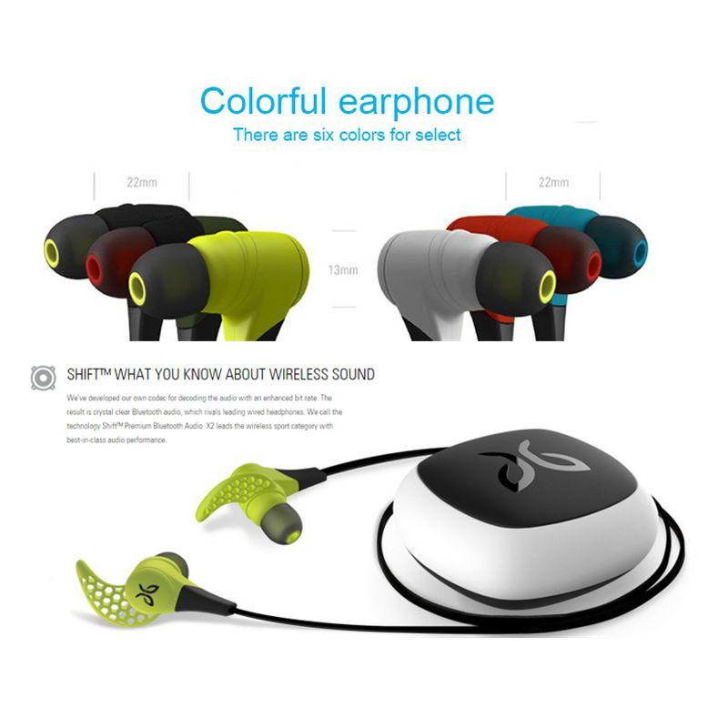 24hours Shipping Mee audio X2 bluebuds X wireless sport bluetooth Waterproof Earphones Earbuds Wireless Studio earphone jaybird