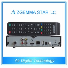 10pcs/lot Air Digital Full Channels Softwares Zgemma-Star LC FTA Sat Receiver Linux OS E2 DVB-C One Tuner Updated Zgemma Star H1